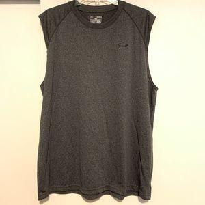 UA Loose Fit Heat Gear Sleeveless Shirt Sz XL